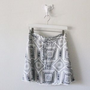 🎉HP 🎉 NWT SAIDE & SAGE Paisley Lace Skirt L166
